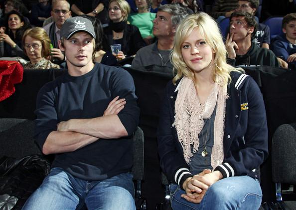 Bradley James and Girlfriend; Georgia King. Nov 2011.