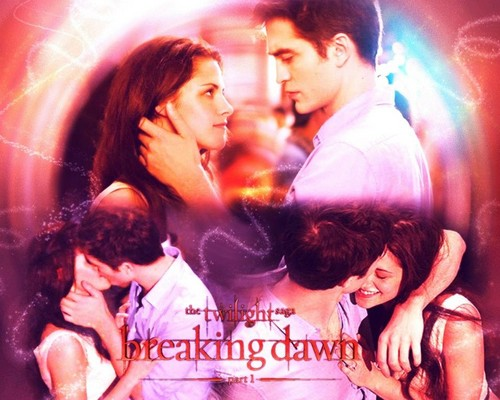 Breaking Dawn Part 1 kertas-kertas dinding