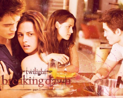 Breaking Dawn Part 1 - twilight-series Wallpaper