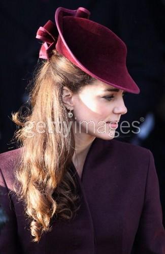 British Royals Attend Natale giorno Service At Sandringham