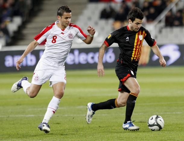 Cesc Fabregas: Catalonia (0) v Tunisia (0)