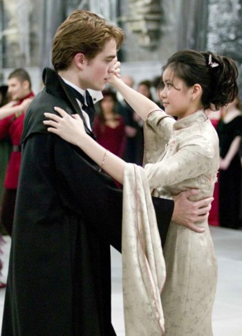 Cho Chang and Cedric Diggory