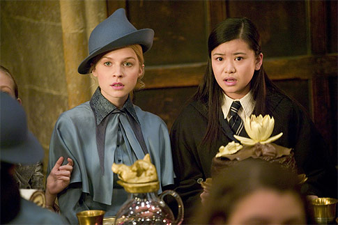 Cho Chang and Fleur Delacour