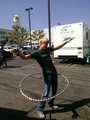 Chord hula hooping