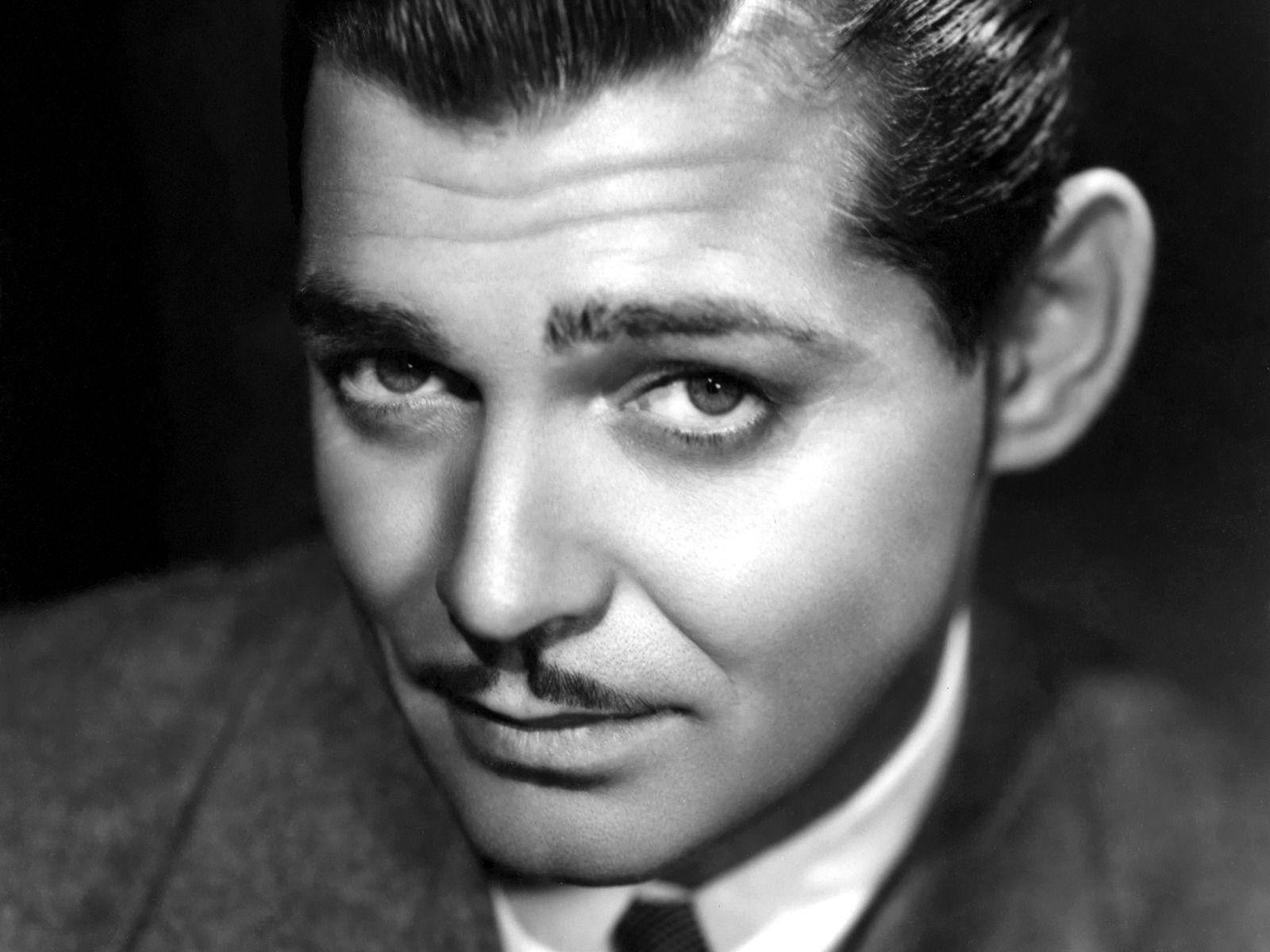 Clark Gable close up