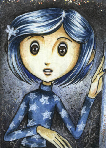Coraline wallpaper possibly with anime entitled Coraline Fanart