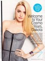 Dakota Fanning Gets Sexy For Cosmo February 2012 (Better Scans)