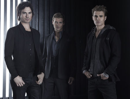 Damon, Stefan, and Klaus New Promo Pic