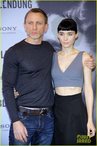 Daniel Craig & Rooney Mara: 'Dragon Tattoo' in Berlin!