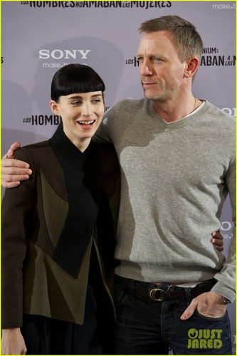 Daniel Craig & Rooney Mara: 'Dragon Tattoo' in Madrid - daniel-craig Photo
