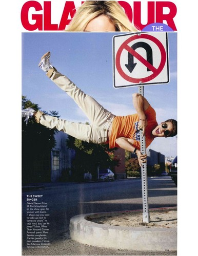 Darren Criss wallpaper entitled Darren Glamour magazine febuary issue