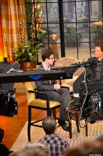 Darren live with Kelly 05/01/12