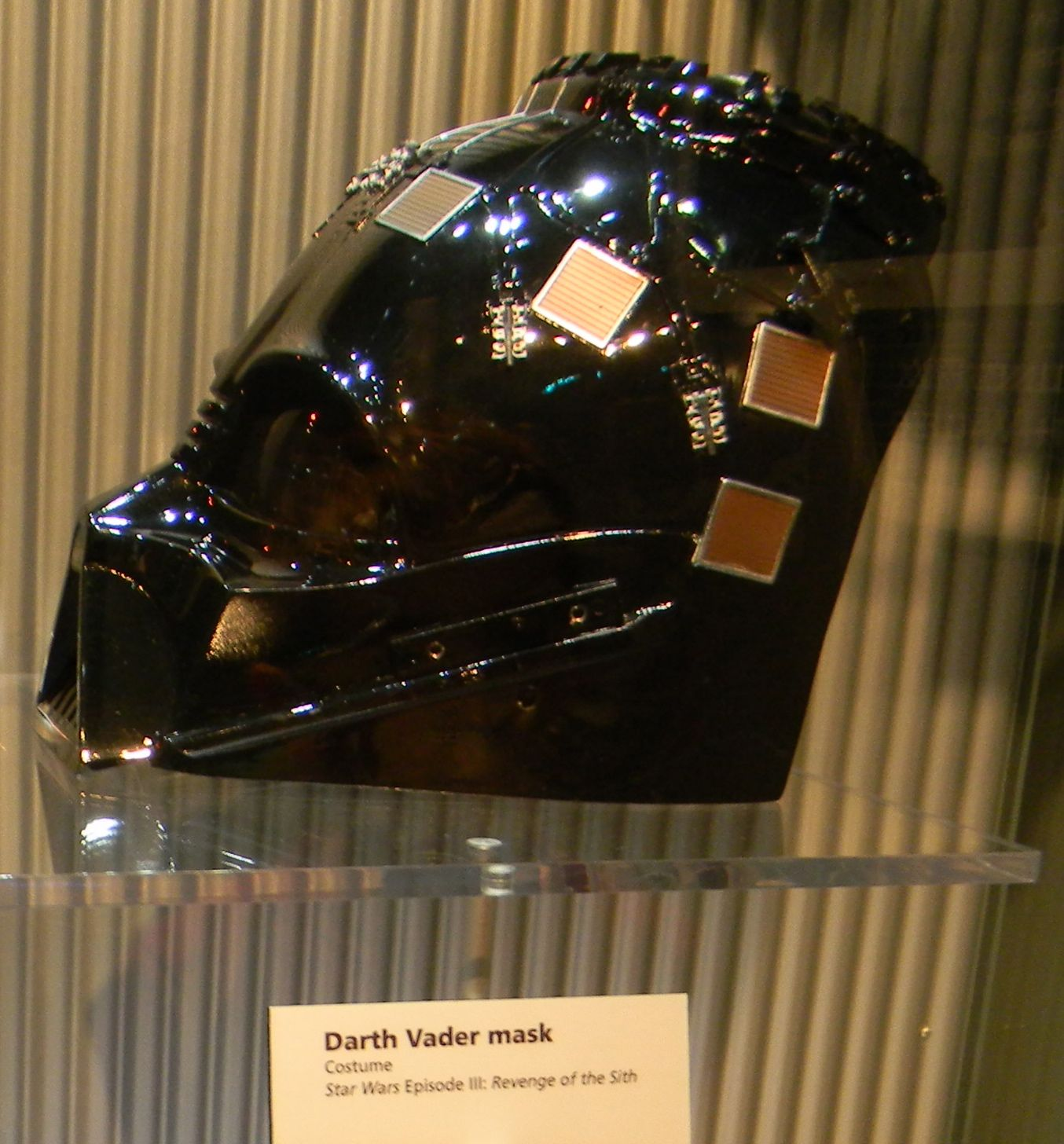 Darth Vader mask from ROTS