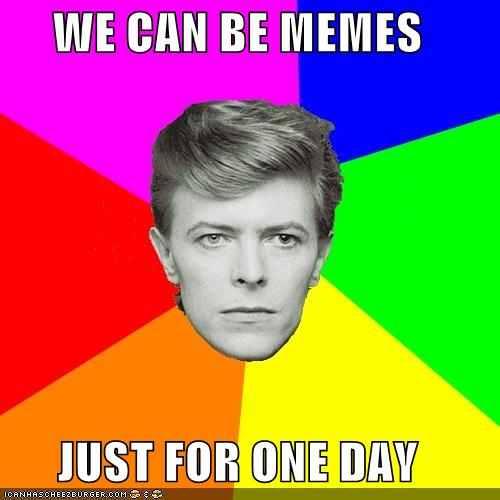 David Bowie meme
