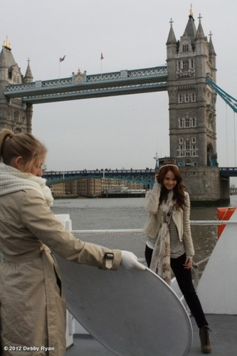 Debby Ryan wallpaper probably with a business district called Debby Ryan Photoshoots!