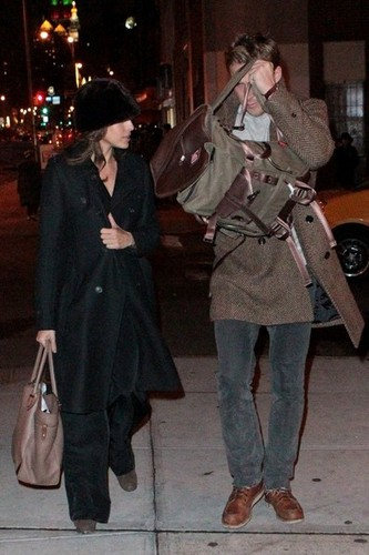 December 31st: Leaving from Bowery Hotel in New York