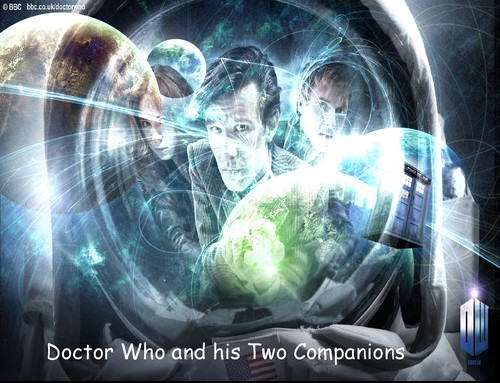 Doctor Who and his two companions