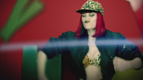 Jessie J wallpaper possibly with a portrait titled Domino [Music Video]