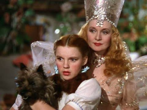 オズの魔法使 壁紙 entitled Dorothy,Glinda And Toto
