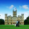 Downton Abbey bức ảnh possibly with a quad, a manor, and a lâu đài, chateau titled Downton