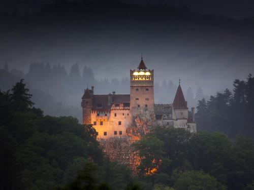 Dracula castelo in Romania