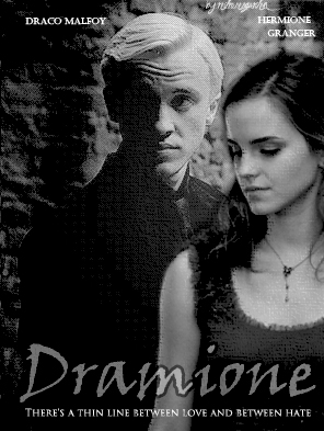 Dramione There's a thin line between love and between hate