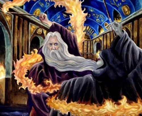 Dumbledore vs. Voldemort
