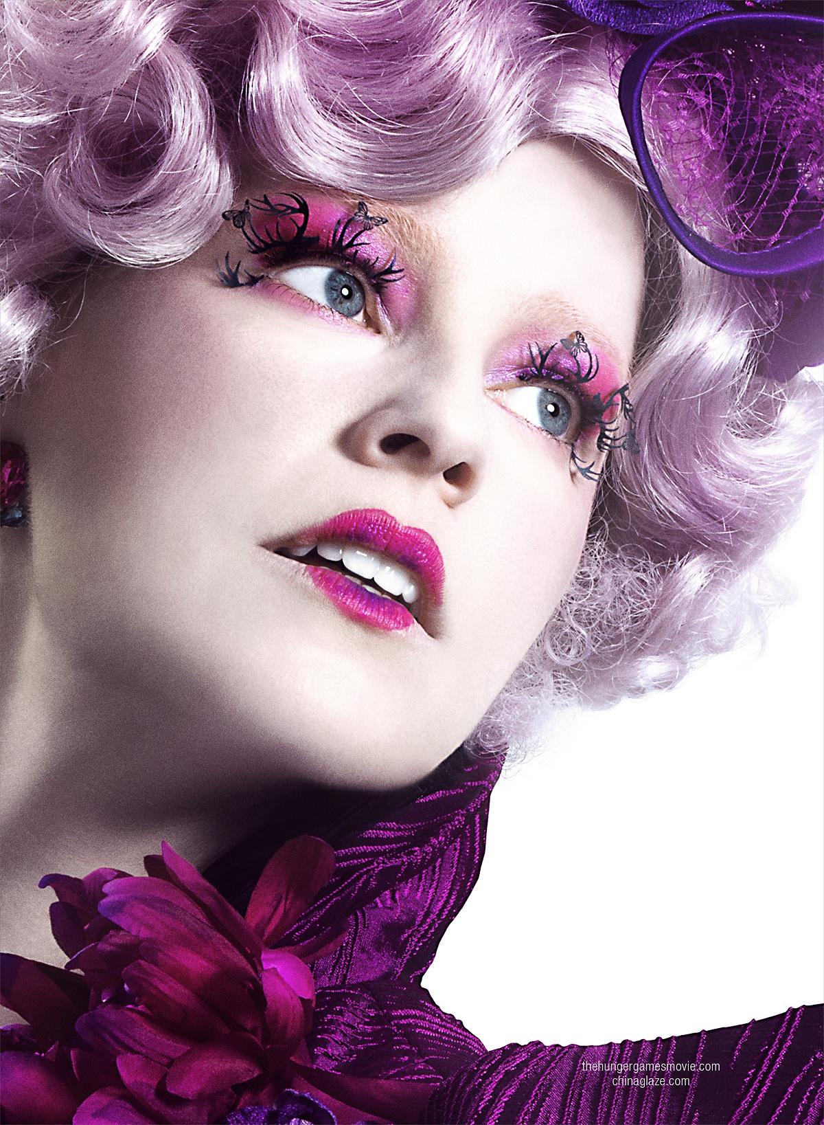 Effie Trinket   Hunger games makeup, Hunger games effie