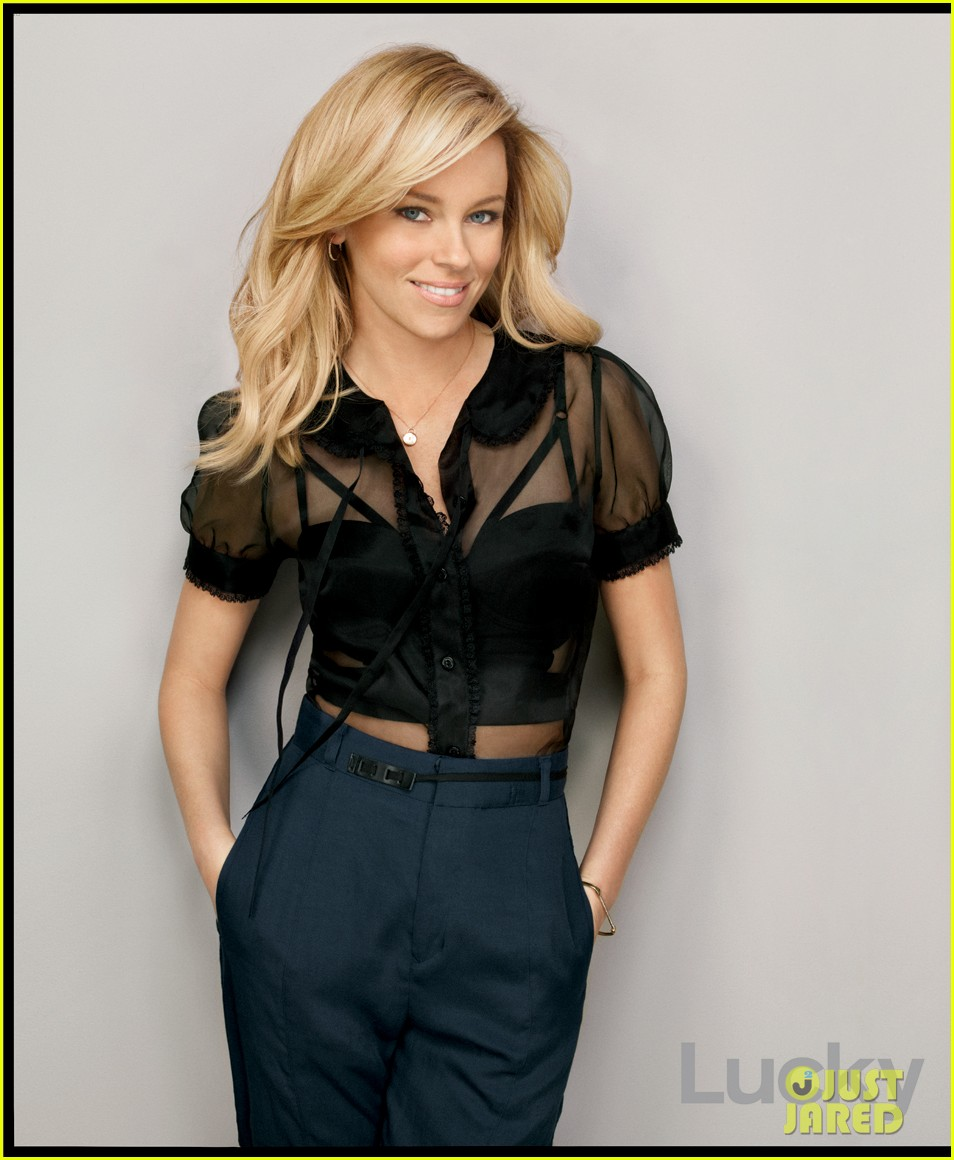 Elizabeth Banks Covers 'Lucky' February 2012
