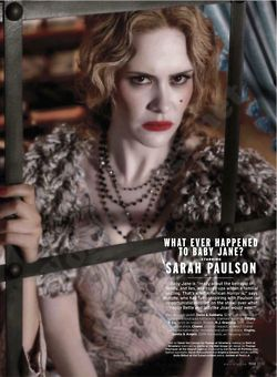 "Elle Magazine's ""Women in TV"" part 2: American Horror Story"