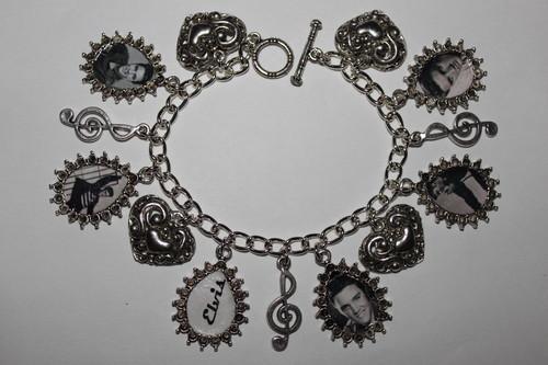 Elvis Presely Charm Bracelet