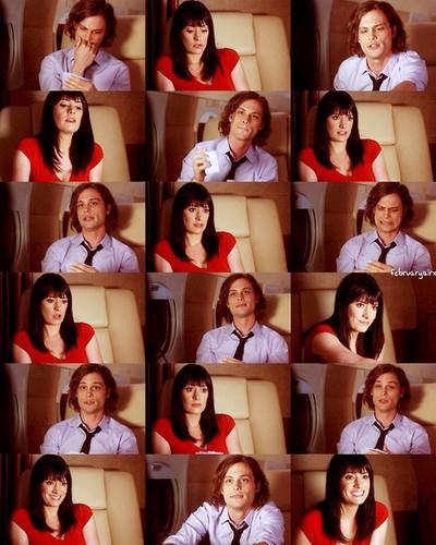 Emily Prentiss and Spencer Reid