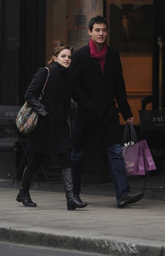 Emma Watson Shopping in London - January 4, 2012