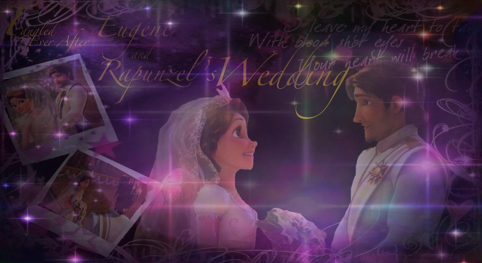 Tangled Ever After images Eugene & Rapunzel's Wedding HD ...
