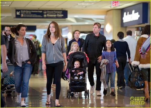Ewan McGregor images Ewan McGregor: LAX Landing With the Family! HD wallpaper and background photos