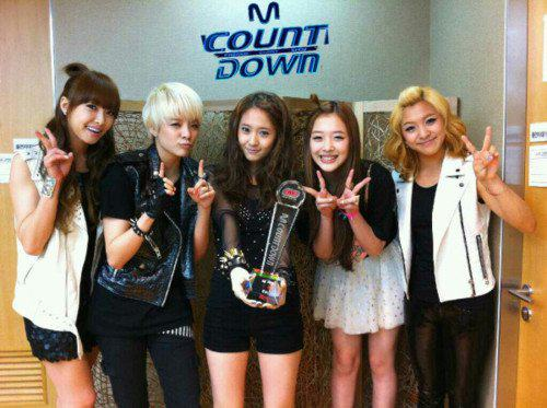Fx korean group height