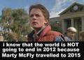 FYI ... There is nothing to fear! - marty-mcfly photo