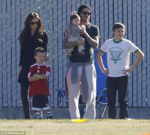 Family Beckham