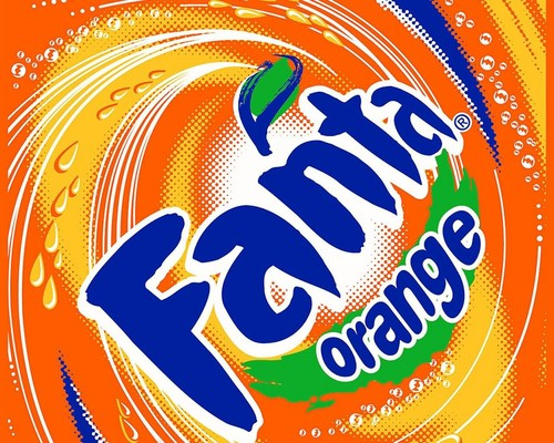 Fanta - fanta-orange Wallpaper