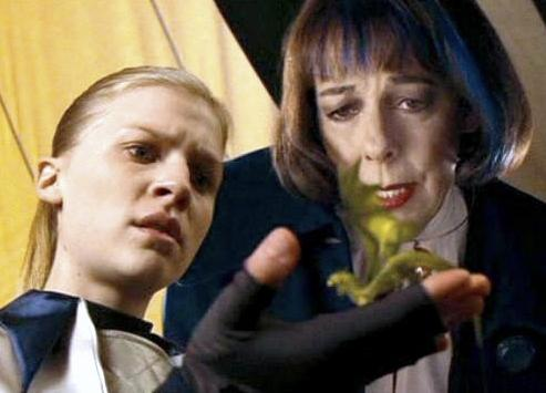 Fleur Delacour and Olympe Maxime