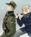 Germany x Prussia - anime fan art