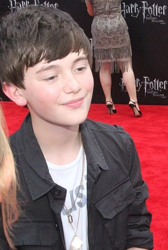Greyson at the film premiere of Harry Potter and the Deathly Hallows Part 2 in July 2011 ^_^