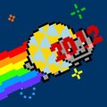 Happy Nyan 2012! - nyan-cat photo