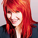 Hayley Williams of Paramore - female-lead-singers icon