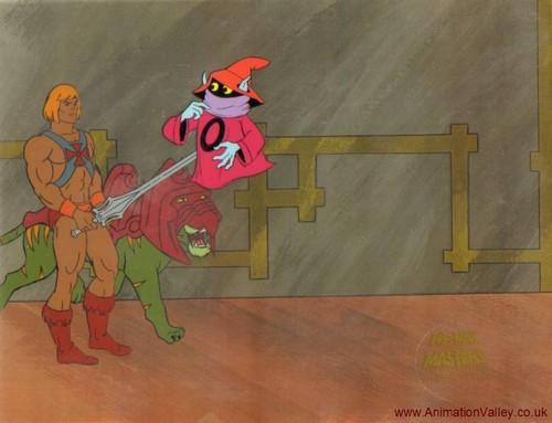 He-Man Production Cel