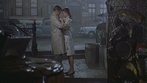 "Movie Couples wallpaper with a street called Holly & Paul in ""Breakfast at Tiffany's"""