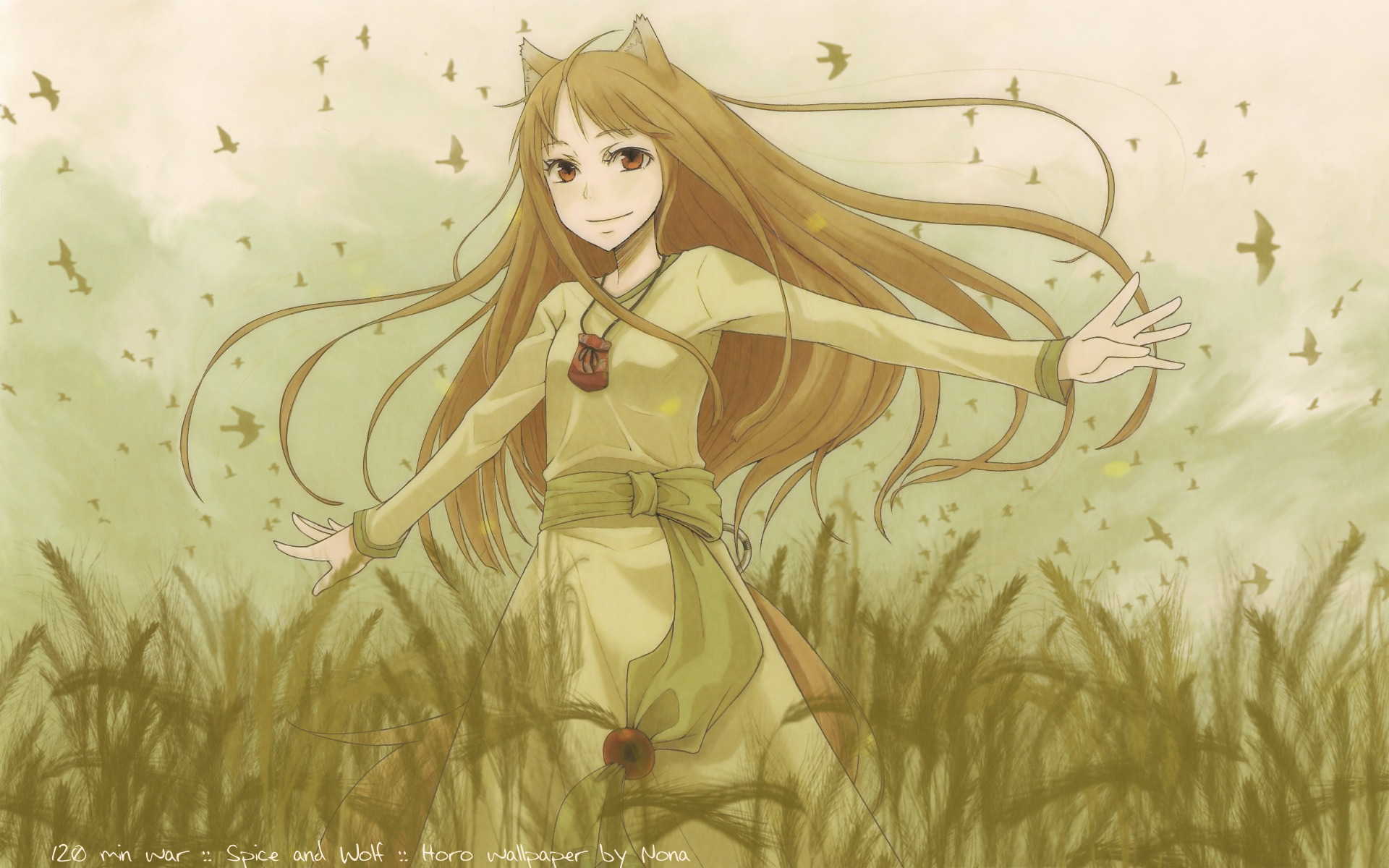 Spice and wolf wolf form - photo#25