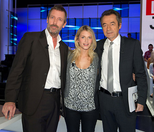 "Hugh Laurie - ""Le Grand Journal"""