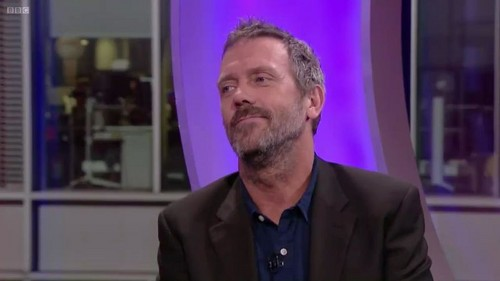 Hugh Laurie- The One Show 22.11.2011 - hugh-laurie Screencap