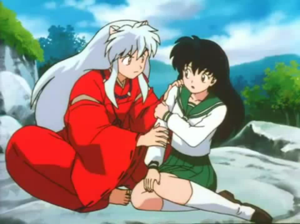 Inuyasha and Kagome Doing It http://www.fanpop.com/clubs/inuyasha-and-kagome/images/28098848/title